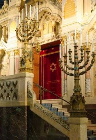 The Synagogue in Szeged, Hungary, is a piece of art. Look at this interior!