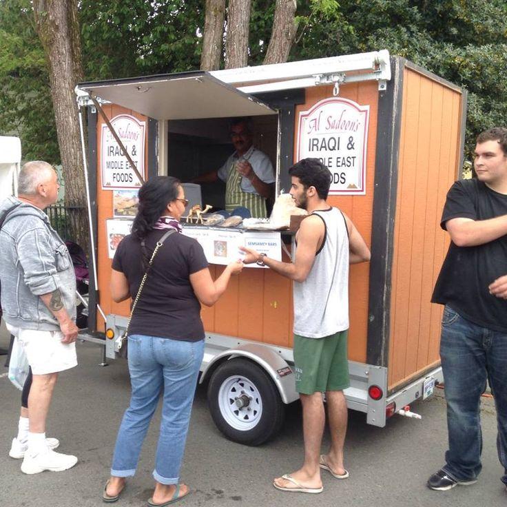 Food Carts Duncan Farmers Market BC