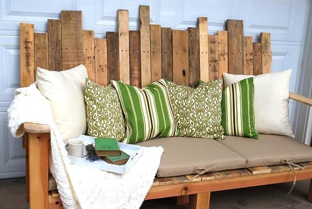 15 super creative outdoor sitting areas - and how to make your own! - Funky Junk InteriorsFunky Junk Interiors