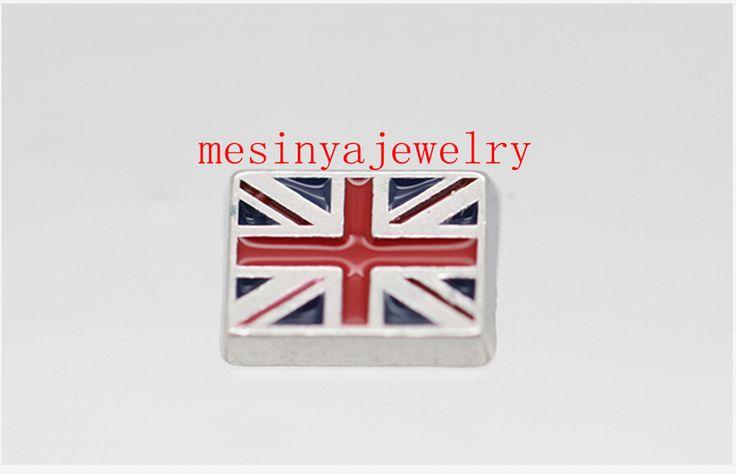 Лучшее качество 10 шт. флаг великобритании плавающей подвески для стекла медальон fc-393, Мин количество $ 15 в порядке различные предметы
