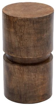 GO Home Ltd British Isle Saturn Stool - contemporary - ottomans and cubes - Pure Home