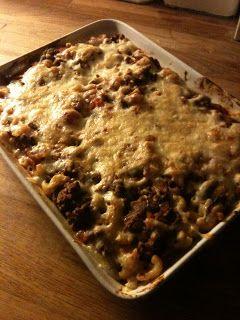 Billig og god middag: Gratinert pasta med kjøttdeig