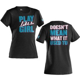 Under Armour Girls' Play Like A Girl Graphic T-Shirt - Dick's Sporting Goods love this shirt <3