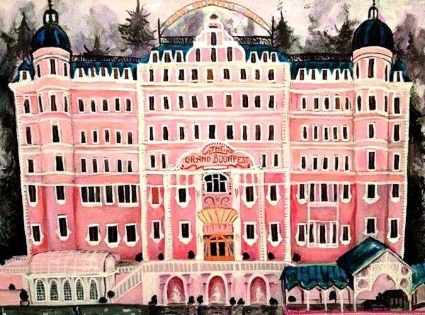 Grand Budapest Hotel Art Print by Alison Dillon