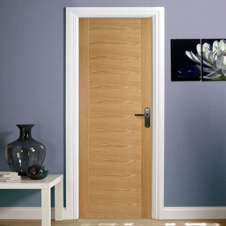 The Aragon oak fire door is fully pre-finished, this version is 1/2 hour fire…