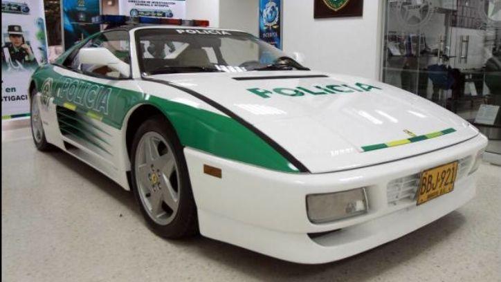 Columbia - Ferrari 348 (ex drug dealers car)