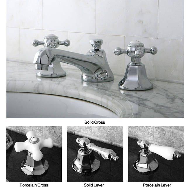 Kingston Metropolitan Chrome Widespread Bathroom Faucet