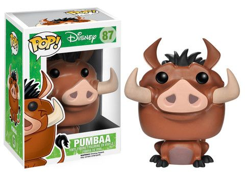 ((HAVE)) Funko Pop! Disney: The Lion King - Pumbaa