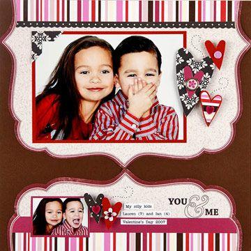 Valentines layout...love it!!!