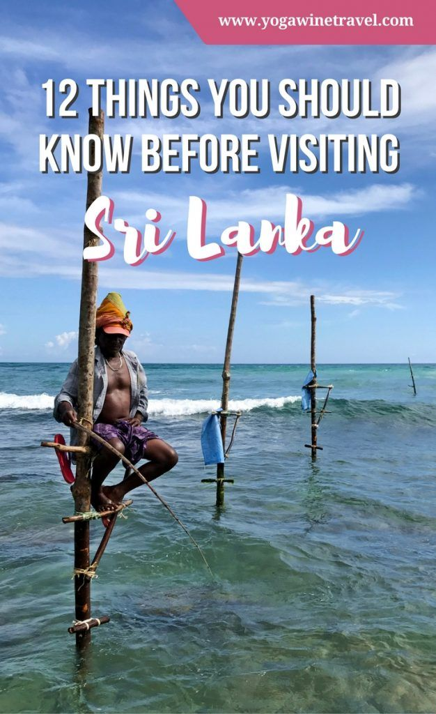 Yogawinetravel.com: 12 Things You Should Know Before Visiting Sri Lanka