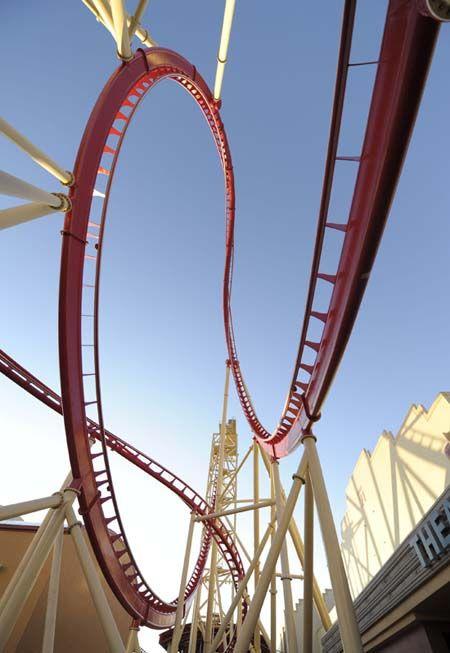 Rockin' Roller Coaster at Universal Studios in Orlando.