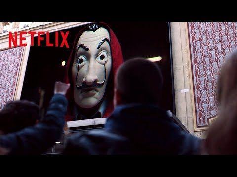 La Casa de Paper Professor Invites to Enter Resistance in Madrid | Netflix – YouTube