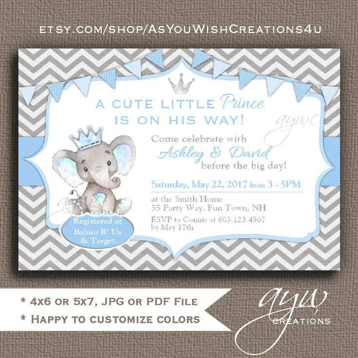 82 best Unique Baby Shower Invitations images on Pinterest | Baby ...