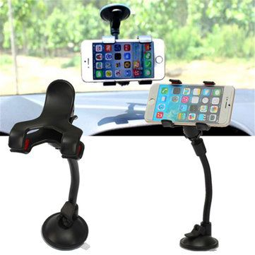 Only US$4.35, buy best Universal Car Phone Holder Glass Sucker For iPhone Samsung Android sale online store at wholesale price.US/EU warehouse.