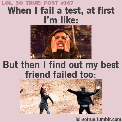 Hahahaha (: So. True. Then we both go back to the first picture