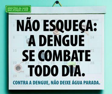Combata a dengue todo dia!