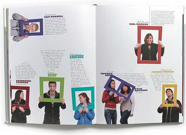 25 best ideas about yearbook pages on pinterest