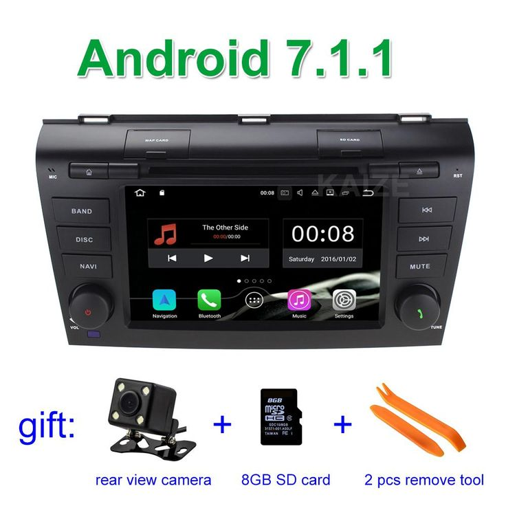 [Visit to Buy] 2 GB RAM Android 7.1.1 Car DVD Player GPS for Mazda 3 2004 2005 2006 2007 2008 2009 with BT Wifi Radio #Advertisement