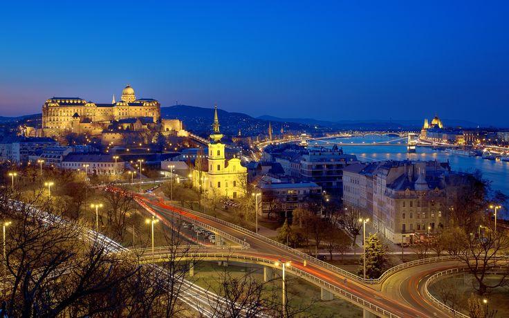 Budapest view by Ádám Zoltán on 500px