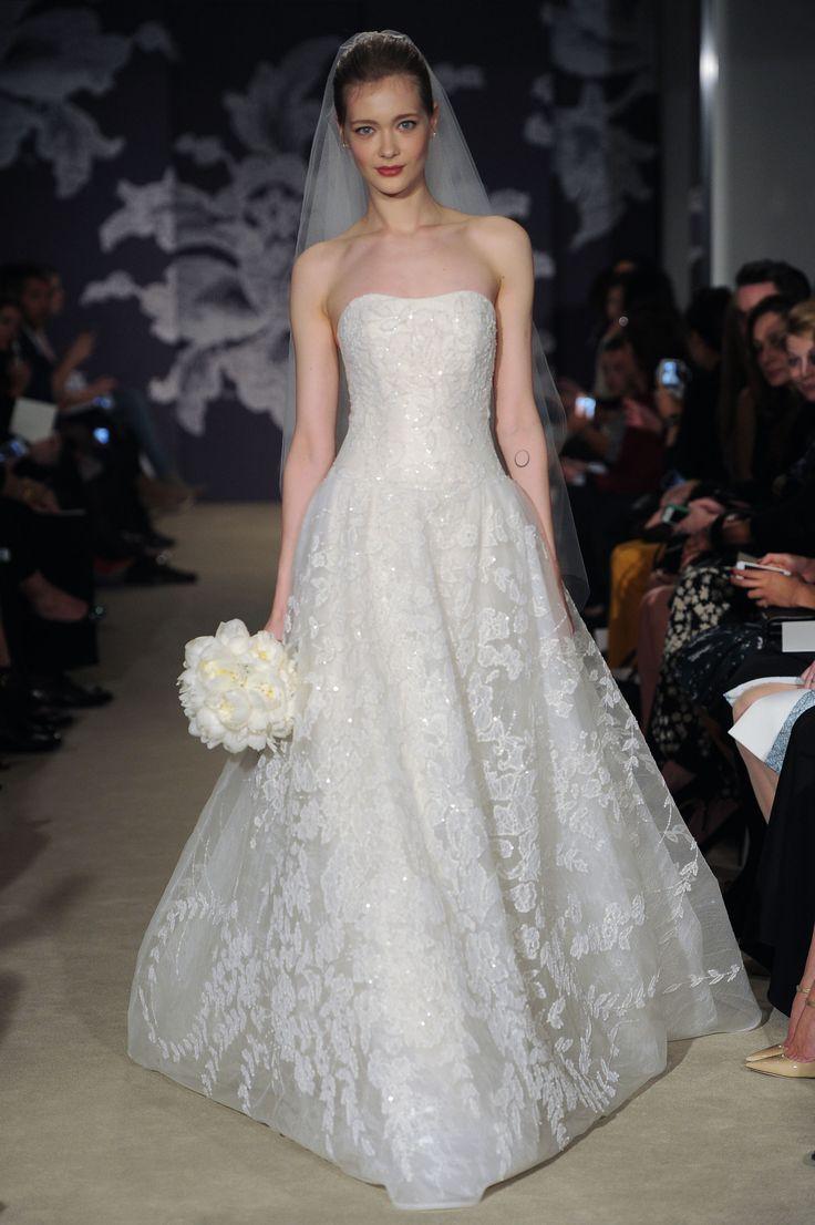 The Colette Gown #CarolinaHerrera #Bridalspring2015