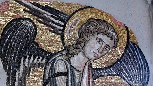 Un «ange» découvert dans l'église de la Nativité