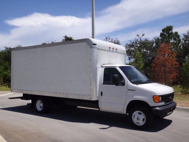 1FDWE35L36DA17288 - 2006 Ford E350 16FT Box Truck Pull-Out Ramp ...