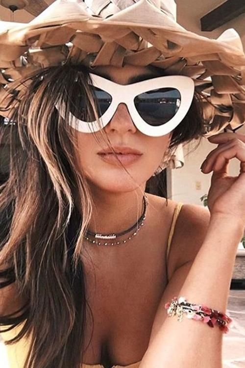 c6e9a91b7fa Cat Eye Vintage Sunglasses in 2019 | Vacation Vibes | Sunglass ...