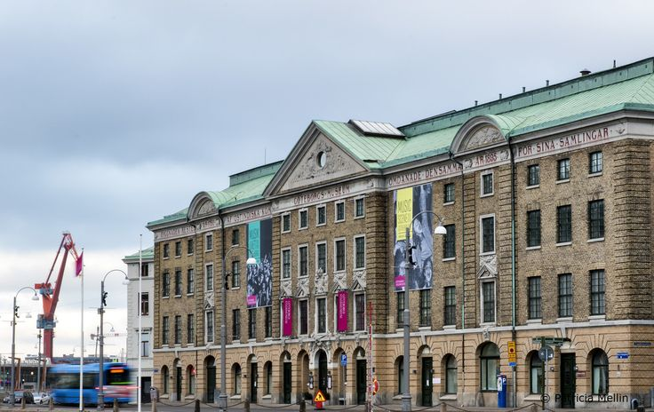 Cityscape - Gothenburg  - East India House (Ostindiska Huset ) - The Gothenburg Museum (Göteborgs Stadsmuseum)