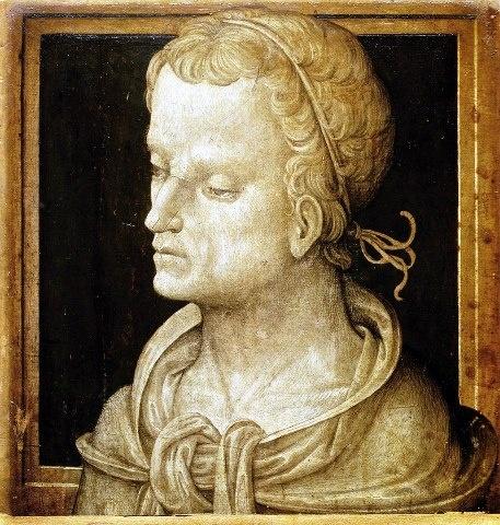 Amico Aspertini, Heroic Head, 16thC, - Esztergom, Keresztény Múzeum