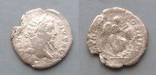 #a771# Roman silver denarius coin of Septimius Severus from 207 AD