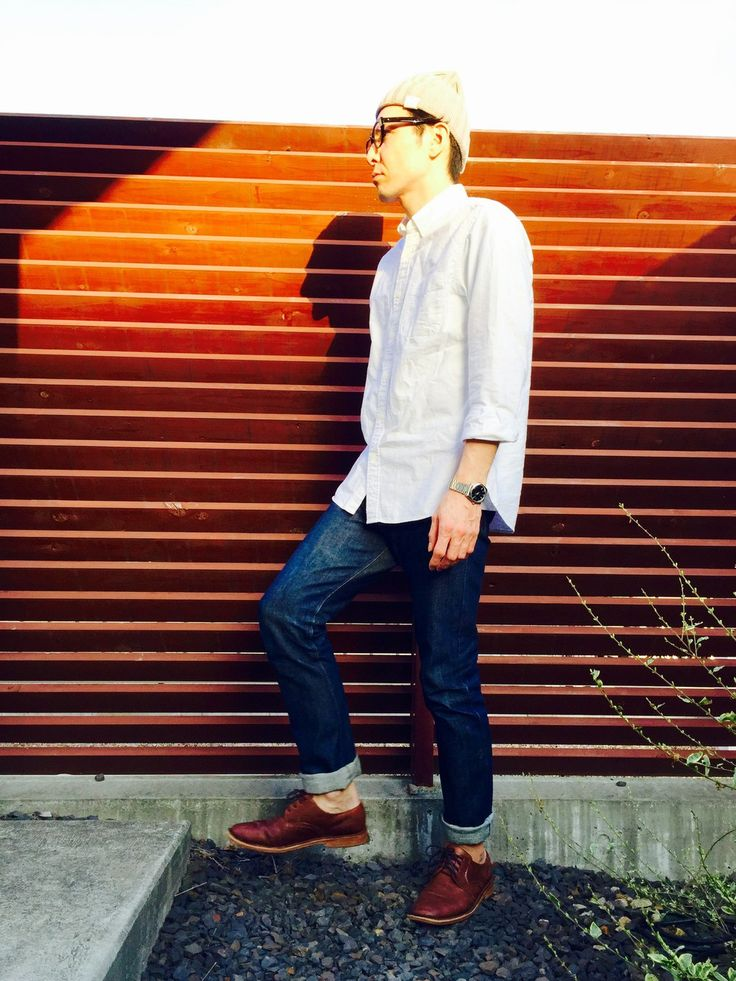 KAZ.S│無印良品のシャツ・ブラウスコーディネート-WEAR