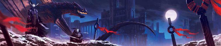 ArtStation - Dragons' Lair-, Biagio D'Alessandro