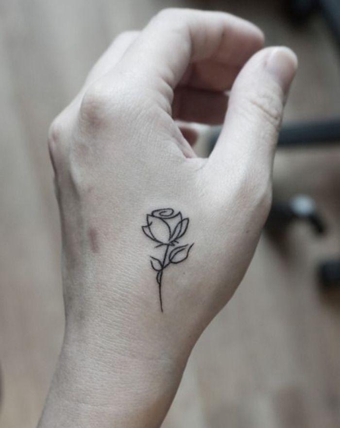 ▷ 1001 + Ideen und inspirierende Bilder zum Thema Rosen Tattoo – Carolin Braun