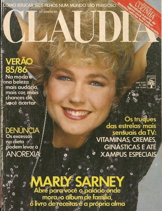 Na capa da Claudia | A história da vida de Xuxa em 39 capas de revista (e uma de disco)
