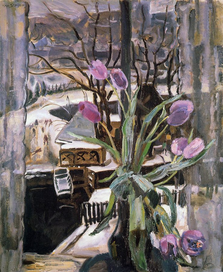Jan Sluijters (1881-1957), Still Life with Flowers (1913)