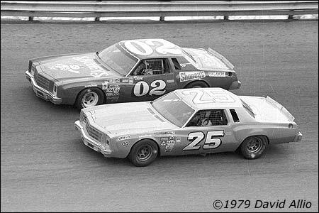 Vintage Bristol International Raceway  in 1979
