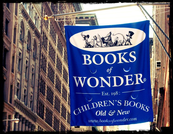 Books of Wonder: NYC's oldest and largest independent children's bookstore, a 'singular paradise for young readers and those who love them'. http://nymag.com/listings/stores/books-of-wonder/   #Bookstore #Kids #NYC