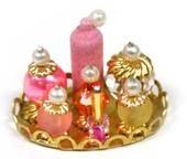 Dollhouse Miniature Vanity Tray