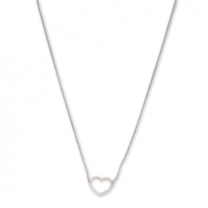 Super Stylish   Necklace   Heart *** De Necklace Heart is een subtiel kettinkje van Super Stylish. Het kettinkje is vervaardigd van hoogwaardig sterling 925 met hoogglans finish in zilver, rosé of goud.