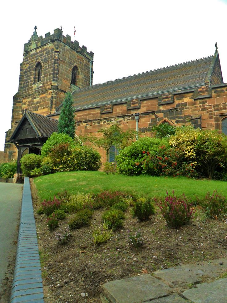 Holy Trinity Church, Built around the 13th century, Sutton Coldfield, England