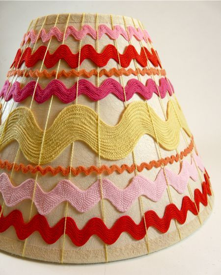 27 best lampshades woven images on pinterest lampshades lamp woven thread ric rac lampshade mozeypictures Images