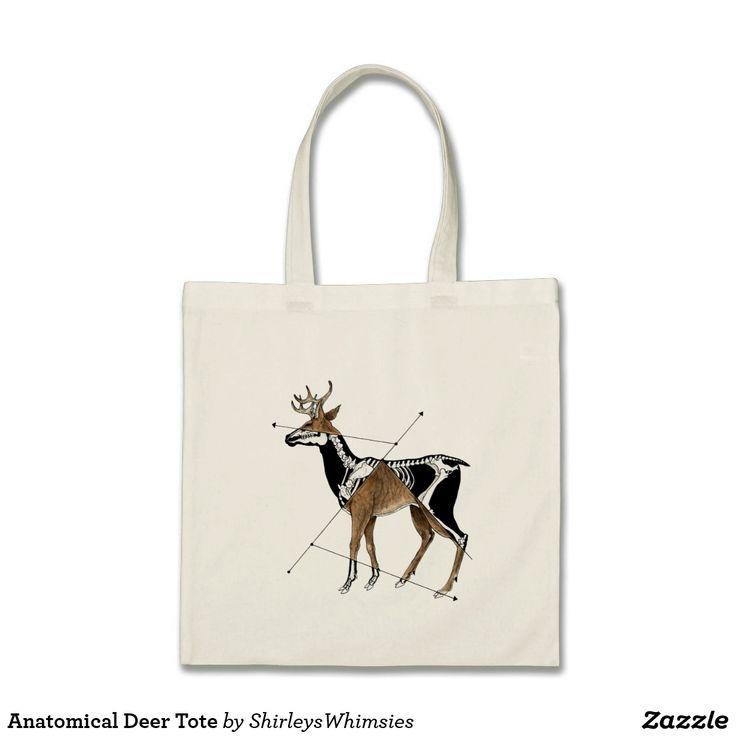 Anatomical Deer Tote