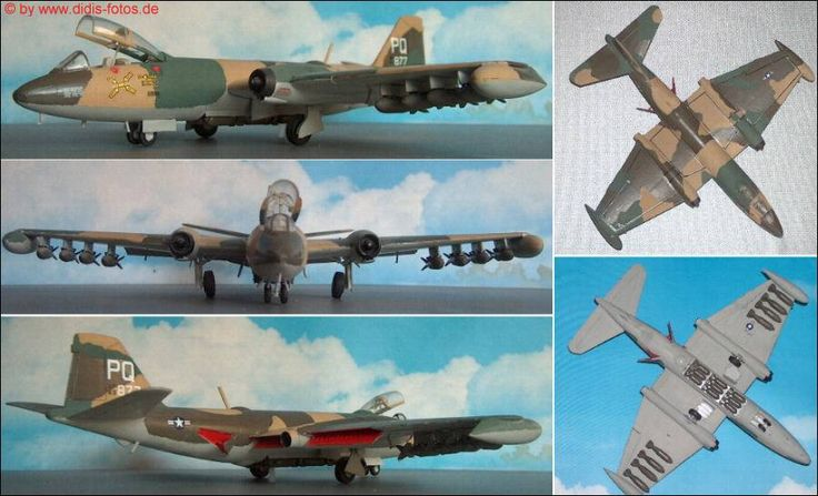 "Martin B-57 ""Canberra"" (Italeri 144) 1:72"