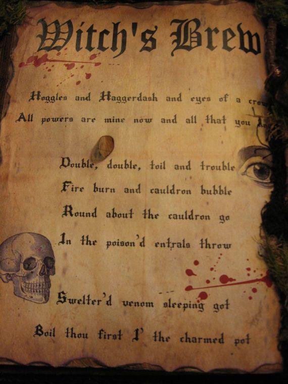 Halloween Spell Book,