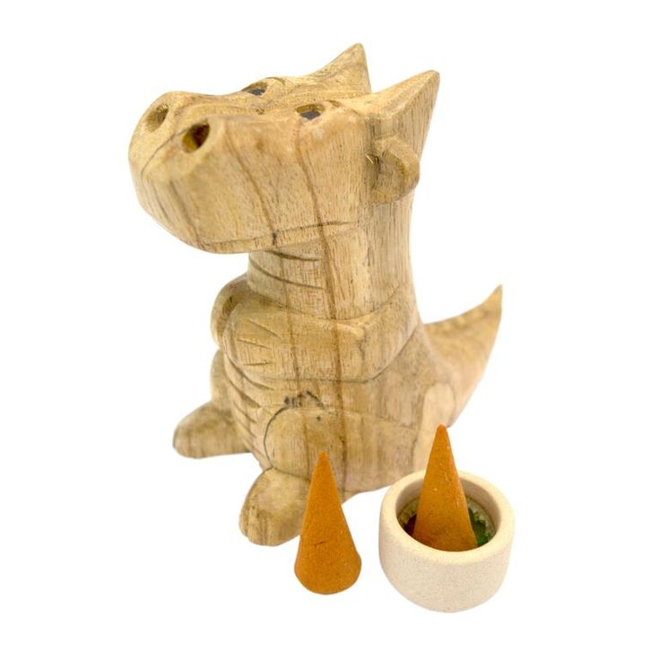 Each pack includes 10 incense cones which are perfect replacements for use with our smoking dragon incense burners. These cones are perfect to use as midge and insect repellant when lit and burning, giving off a citrus scent. Cones - 3.5 x 1.5 x 1.5 cm