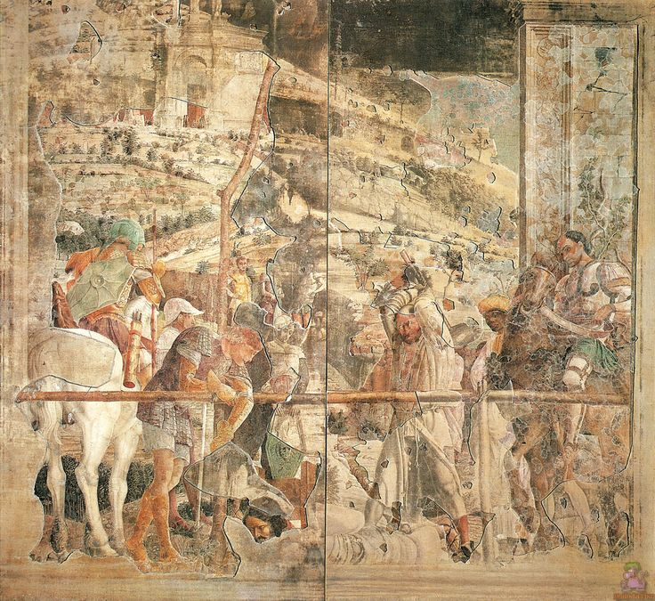 Martyrdom of St.James by @artistmantegna #andreamantegna #earlyrenaissance