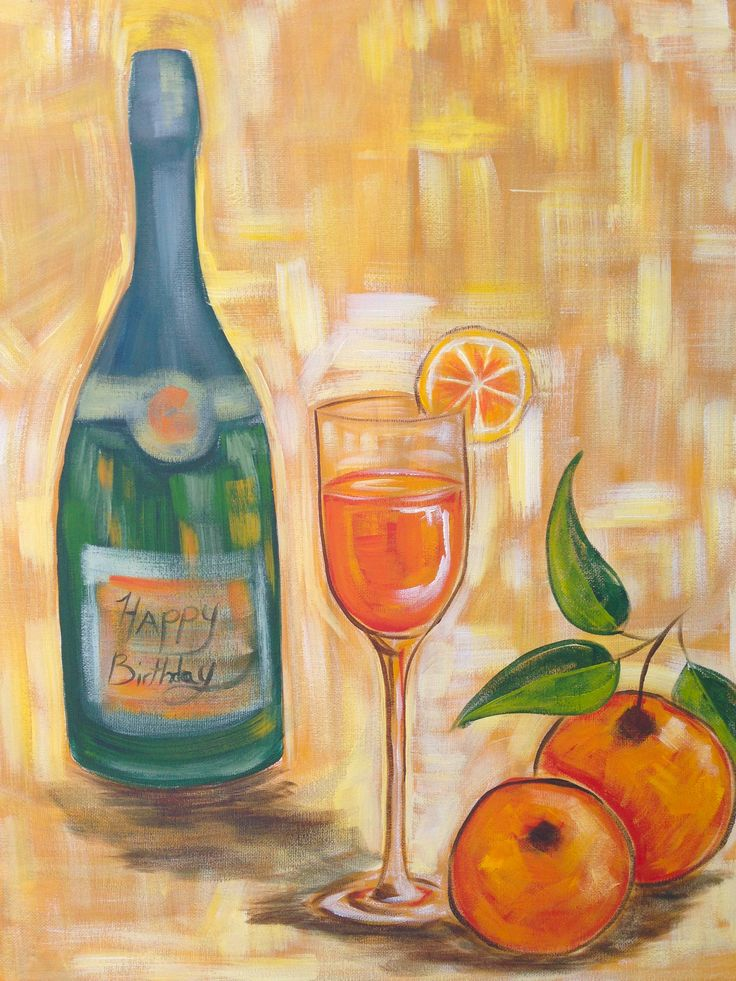 1000 images about the art sherpa full art lesson gallery for Wine glass painting tutorial
