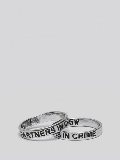 Partners In Crime Ring Set - Gypsy Warrior