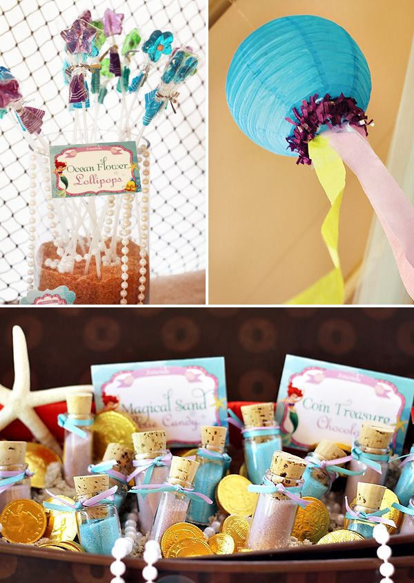 Under the Sea Party Decorations! Recreate the paper lantern creation using colorful #burtonandburton Paper Lanterns! #underthesea #paper #lanterns