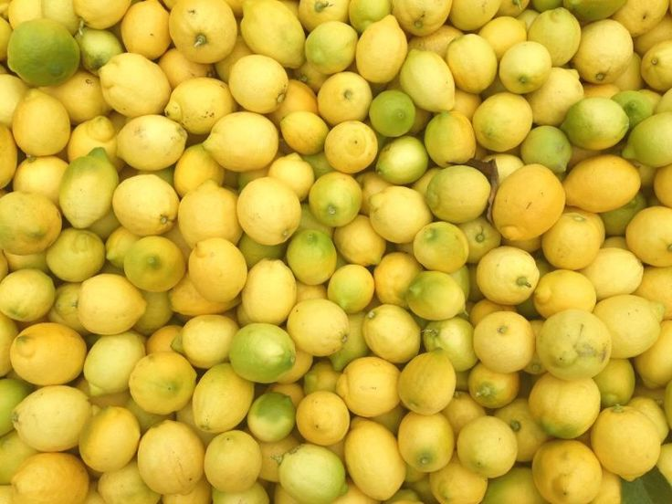 Limones del campo